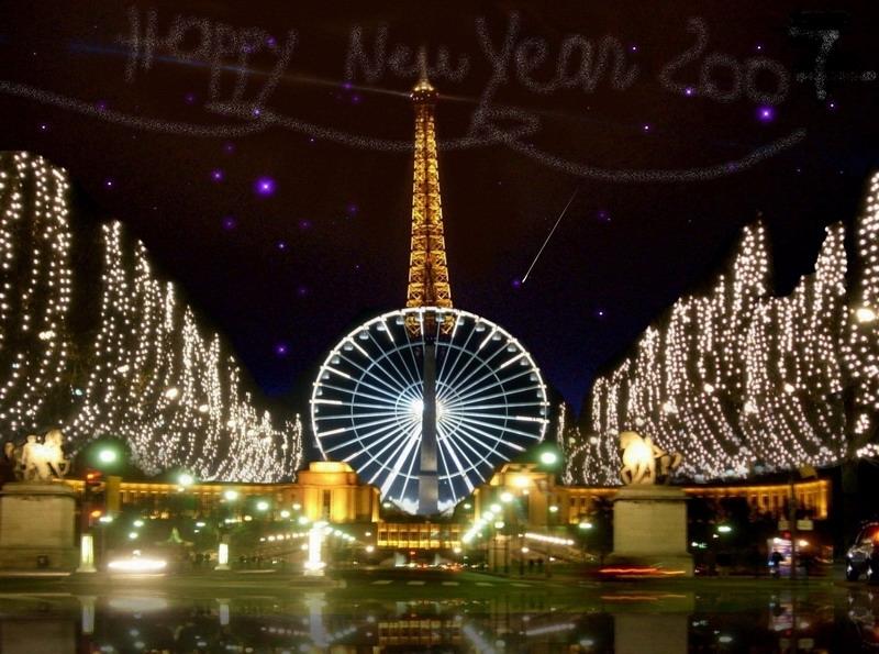 На новый год в париж из спб