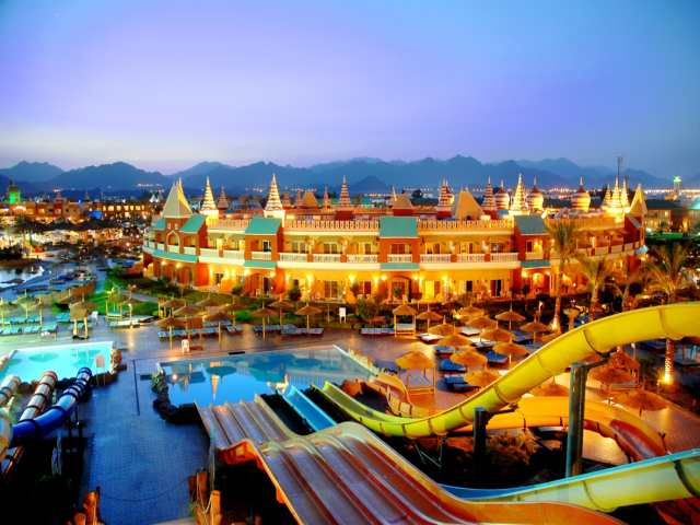 египет отель с аквапарком