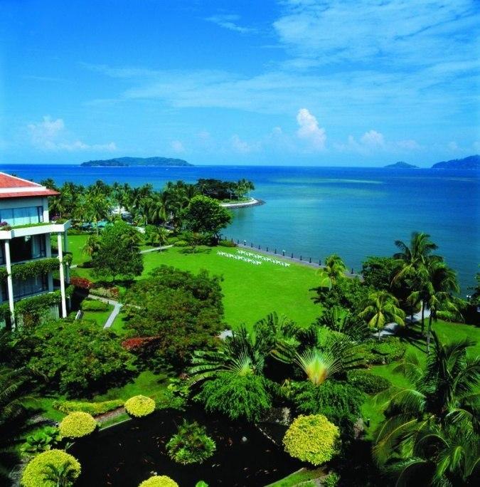 Shangri-La's Tanjung Aru борнео1