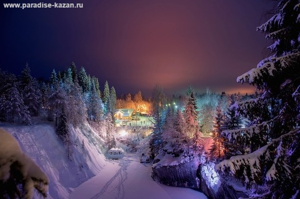 Зимние приключения в Карелии 5 дней 4 ночи.